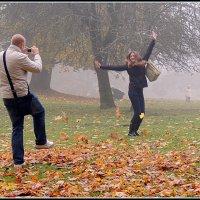 Золотая осень в Сигулде (Латвия) :: Viktor Makarov