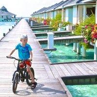 Водные бунголо, Мальдивы :: Анна Уварова