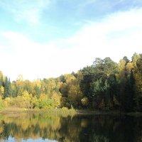 Осень на озере :: Галина Орлова