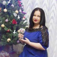 Новогодняя :: Elena Zhivoderova