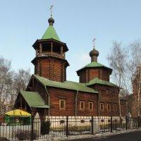 Храм Святого праведного Иоанна Кронштадтского в Жулебино :: Александр Качалин