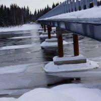 Строящийся мост через Косью :: Андрей Примаченко