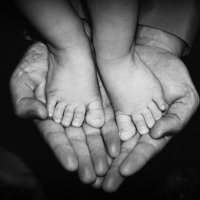 крепкие отцовские руки :: Марья Че