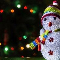 домашний снеговик :: Константин Кирюшкин