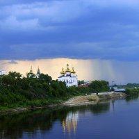 Троицкий монастырь во время грозы. Тюмень :: Анна Павлова