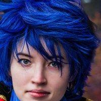 Девушка с голубыми волосами :: Nn semonov_nn