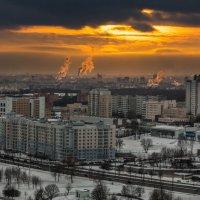 Закат в Минске :: Виктор