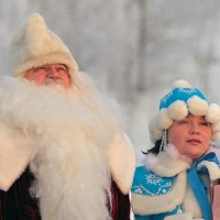 Дедушка по моему я замерзаю... :: Сергей