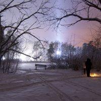 Серебряный бор. Бездонное озеро. Колдовство? :: Николай