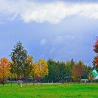 Случайные цвета в парке героев С-ПБ. :: Валентина Потулова