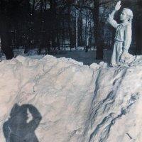 Зимний сюжет /архив 90-х / :: Цветков Виктор Васильевич