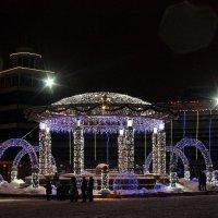Новогодние украшения. Ханты-Мансийск :: Юлия Шелепова