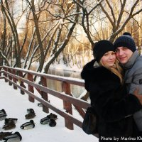 Солнечно-романтичная зимняя прогулка :: Marina Kharitonova