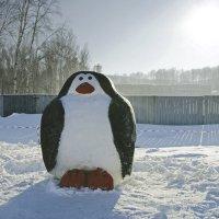 Конкурс снежных скульптур. Экспонат :: Вера Кириллова