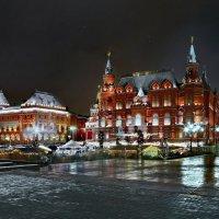 моя Столица ночная Москва( исторический музей) :: юрий макаров