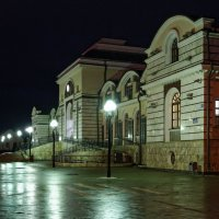 Вечерний вокзал :: Валерий Шибаев