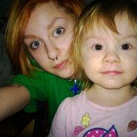 с дочей :: Александра Николенко