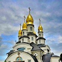 Современный храм. Украина. Район г.Белая Церьковь. :: Виталий Половинко