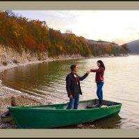 В сентябре на озере Абрау :: Константин Николаенко