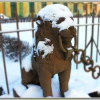 В снежной маске. :: Александр Лейкум