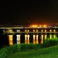 Геленджик.Бухта ночью.. :: Александр Герасенков