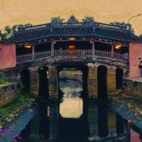 Мост Кау Нхат Бан — древнее украшение Хойана.Вьетнам :: Jozhеg Tumanov ( Serg F) Serg F