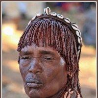 Портрет женщины из племени Хамер :: Евгений Печенин