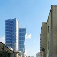 Наступление стекла на старый Тель-Авив :: Ron Леви