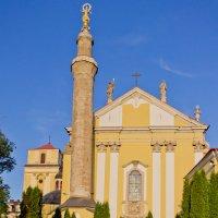Каменец-Подольский. Редкое сочетание: католический собор с минаретом :: Александр Крупский