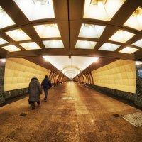 Перспектива в метро :: Алексей Соминский