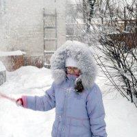 вот и к нам зима пришла в конце второго месяца))) :: Валентина Лексикова