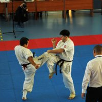 Соревнования по каратэ кекусинкай :: Низами Асланов