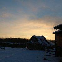 Закат в деревне :: Татьяна Сухова