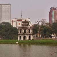 Башня Черепахи,Озеро Хоанкием,Ханой.Вьетнам :: Jozhеg Tumanov ( Serg F) Serg F