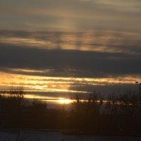 Солнце вечером :: Костя Семак