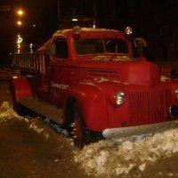 Пожарная машина ЗИС-11 :: ДС 13 Митя