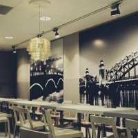 Пустое кафе ночью :: Annie Kuzz