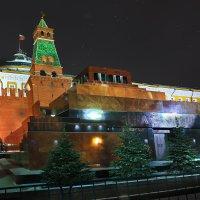 моя Столица ночная Москва(мавзолей) :: юрий макаров
