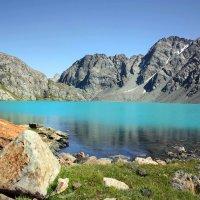 Горное озеро Ала-Куль :: Roman Arnold