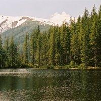 Горное озеро в Татранском национальном парке :: Андрей Зелёный