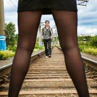 Он и она... :: Сергей Смоляков
