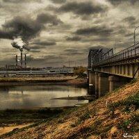 Урбанистический пейзаж :: Елена Строганова