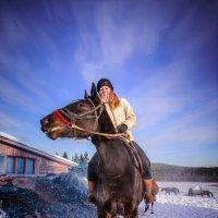 Мороз под Cолнцем, день чудесный... :: Михаил Васильев