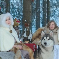 зимнее чаепитие :: Ксения Угарова