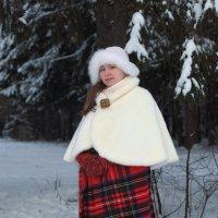 Lady in tartan :: Ксения Угарова