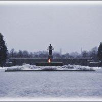 На Пискаревском мемориале тишина :: Сергей В. Комаров