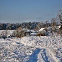 Зимой в деревне :: Александр Сергеев