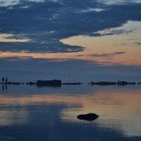 Белые ночи. Закат. :: Galina YAROSHEVICH