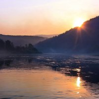 Закатилось солнце за гору... :: Наталья Юрова