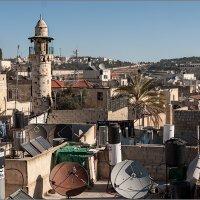 Иерусалим. Крыши старого города :: Lmark